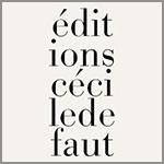 edition cécile defaut, jean-claude pinson