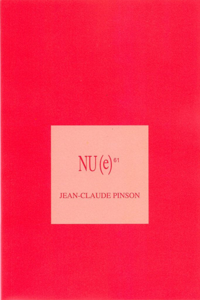 Nu(e) #61, Jean-Claude Pinson