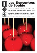 Rencontres de Sophie, Nantes, 2015, Jean-Claude Pinson