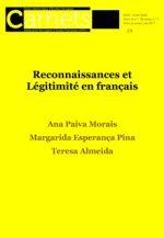 Carnets : revue électronique d'études françaises (IIe série, nº 9, 2017 - volume intégral) Lisbonne