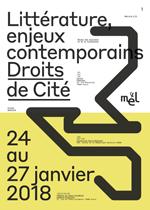 discussion avec Michel Deguy, sous la conduite de Francesca Isidori, à l'Université de Nanterre, dans le cadre des « Enjeux contemporains » (« Droits de Cité ») organisés par la Maison des Ecrivains et de la Littérature (MEL)